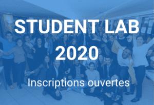 Le Student Lab 2020 a commencé ses inscriptions