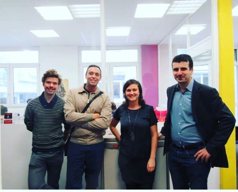 Le télétravail en coworking avec telecowork et ma rencontre avec la startup Bnbees à Co-Start.