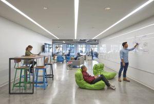 Les bureaux pour fidéliser les talents.
