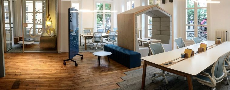 Le bureau du futur vu par Moore Design