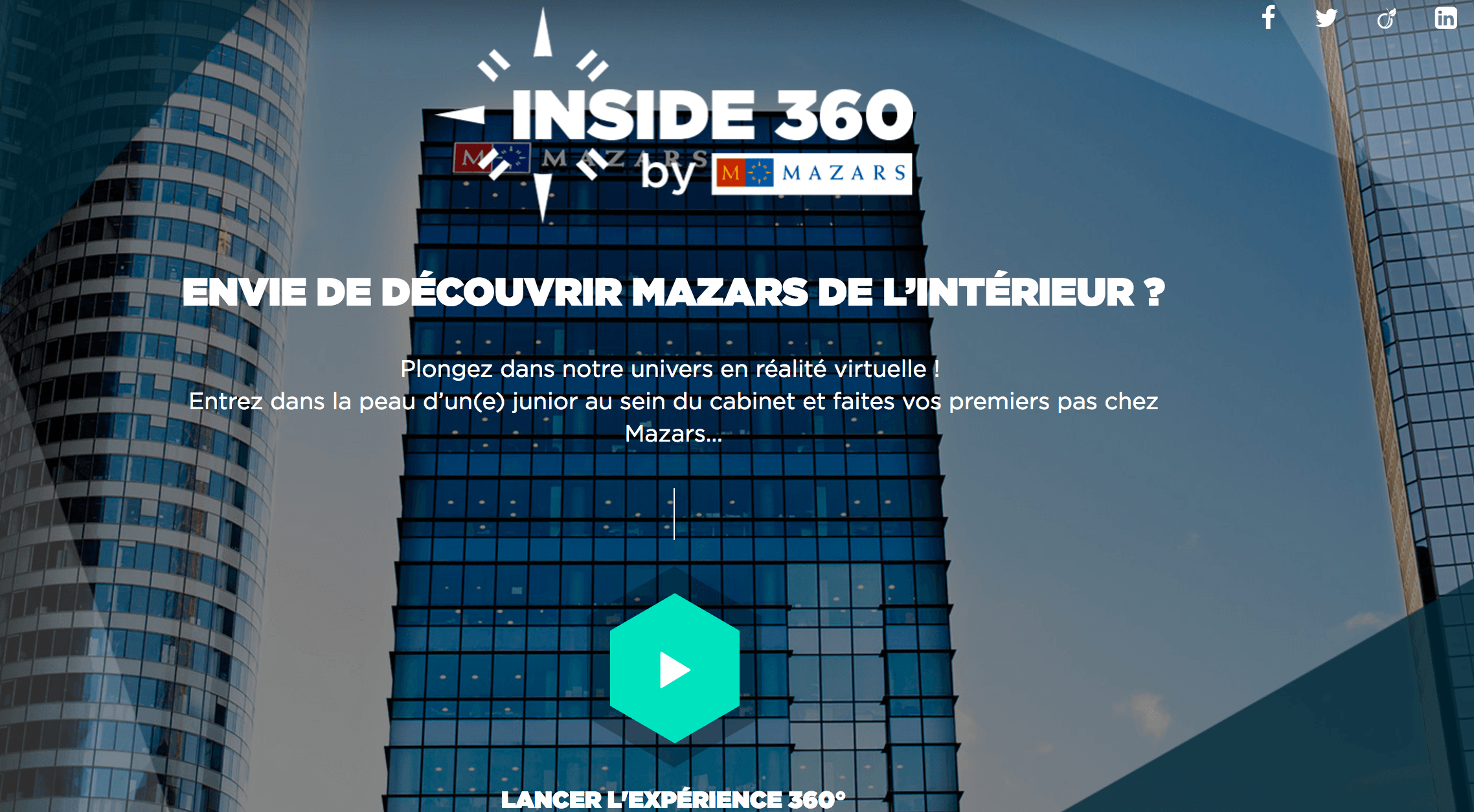 Innovation RH : Mazars à 360°