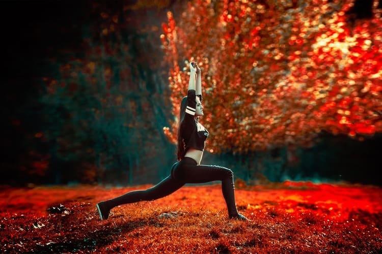 Cours de Yoga en équipe