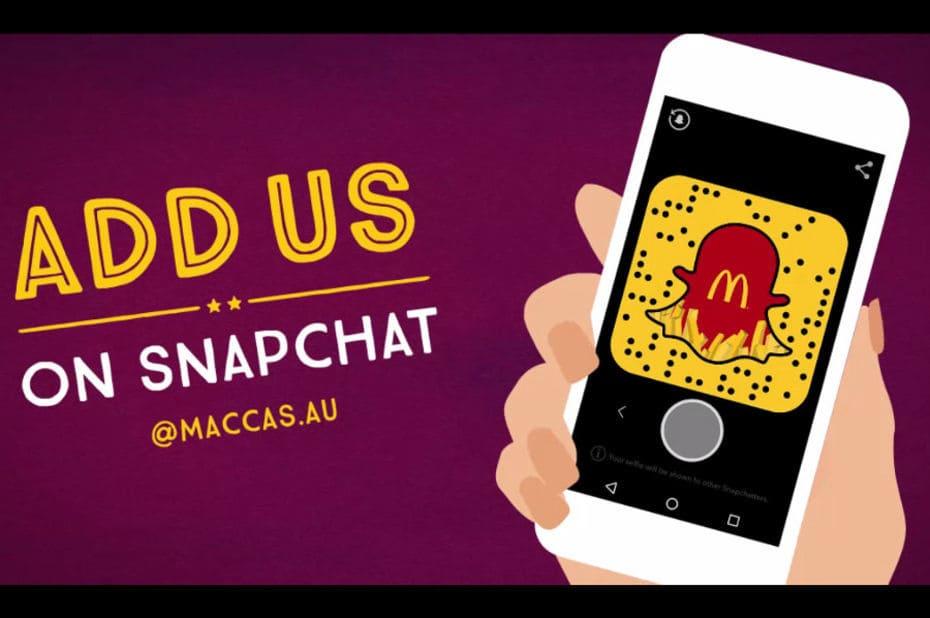 Le recrutement sur Snapchat