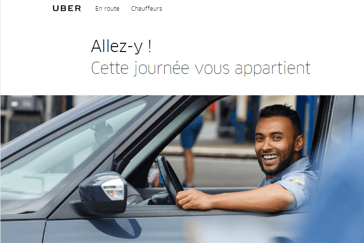 uber marque employeur