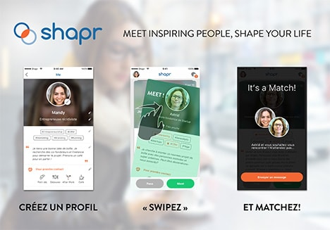 Shapr : l'application pour networker