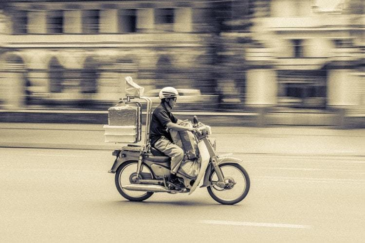 La livraison et l'uberisation