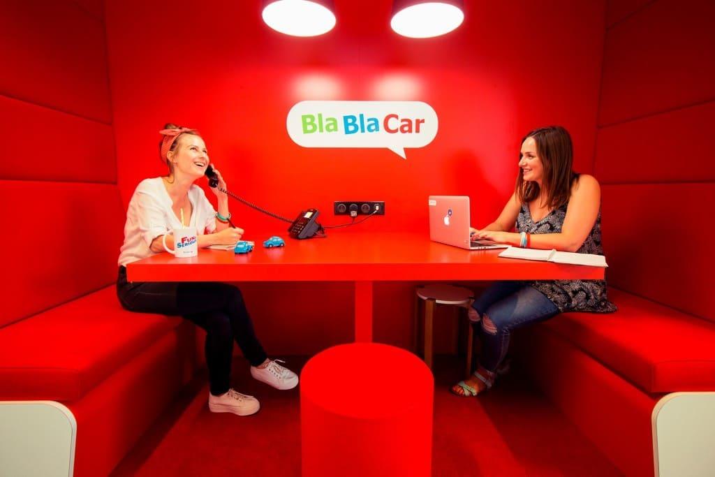 Les bureaux de BlaBlaCar