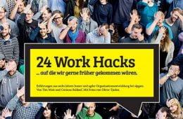 24 Work Hacks by sipgate