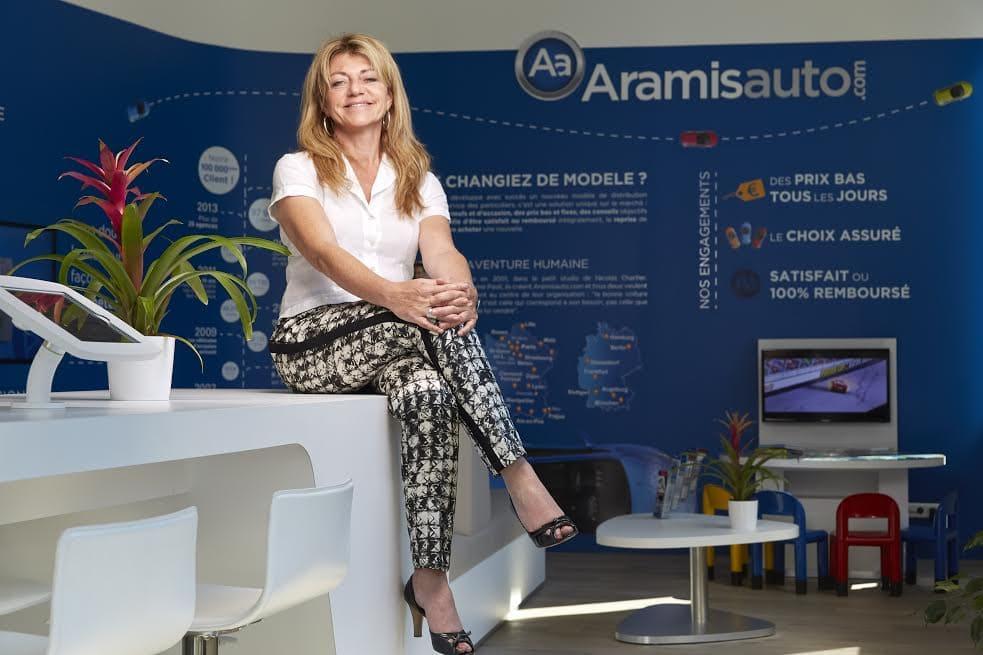 Brigitte Shcifano DRH chez Aramisauto