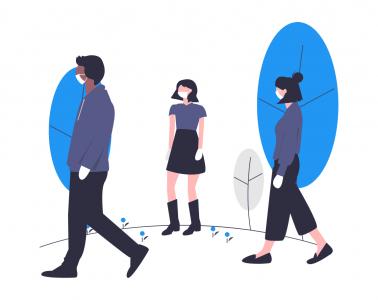 déconfinement : les collaborateurs devront garder leurs distances
