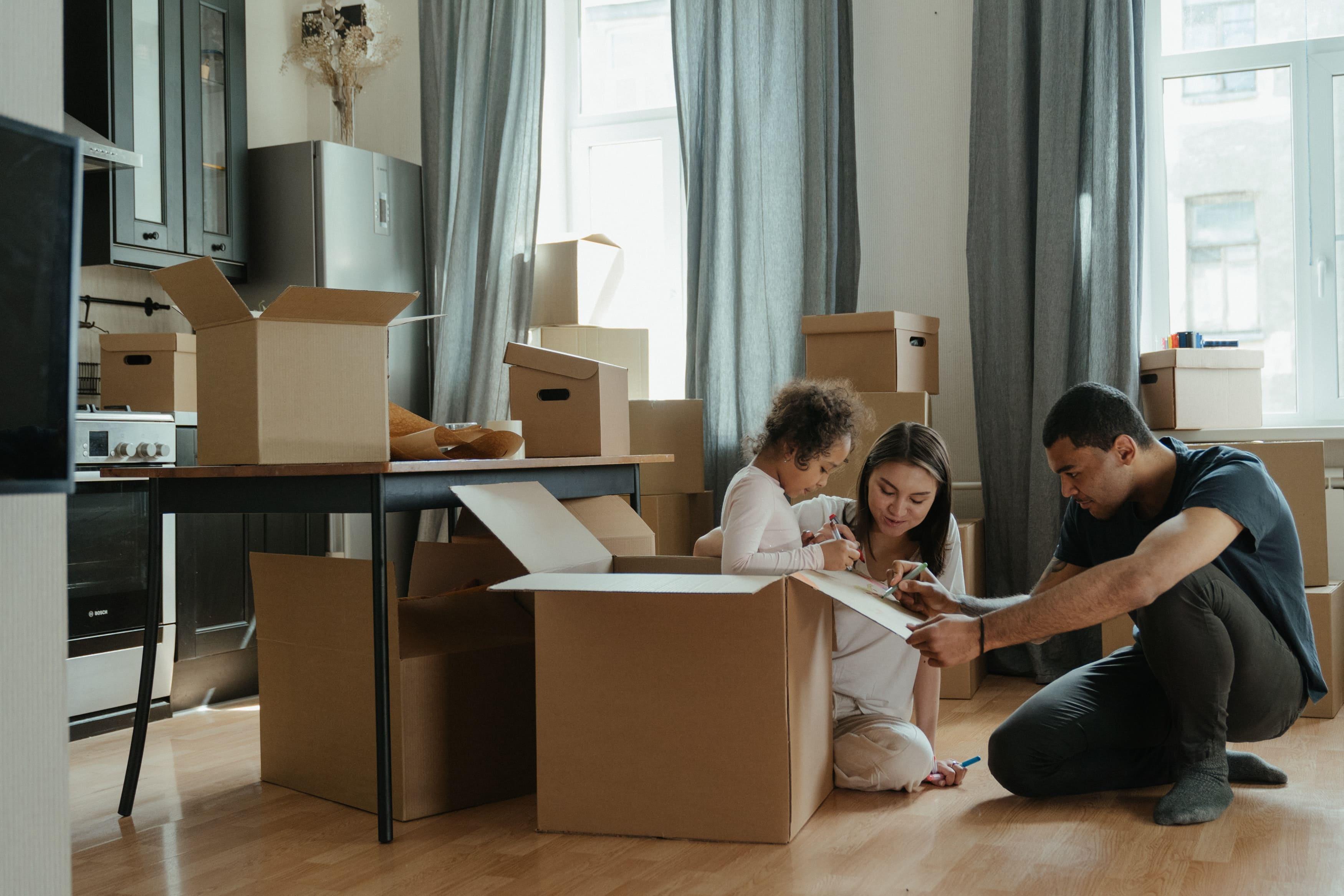 Télétravail imposé : déménagement des salariés